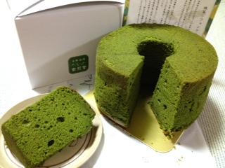 京のシフォンケーキ